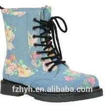 Good Quality Flower Pattern Wholesale Martin rubber rain boots