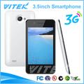 Nuevo producto 3.5 pulgadas dual sim baratos mt6572 android teléfono celular