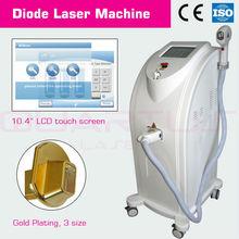 Remoção do cabelo/rejuvenescimento da pele 808nm alta potência de laser de diodo