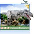 Parque temático Artificial dinosaurios Animatronic - T - Rex