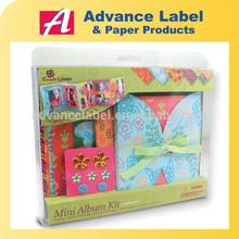 DIY Craft Scrapbook Decoration Whimsical Colorful Mini Book Photo Album Kit
