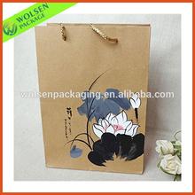 Brown kraft paper bag manufacturers /Paper kraft bag