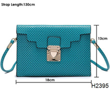 H2395 2014 women bag high quality pu leather shoulder bags casual handbag silicone cell phone purse
