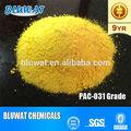 Cloreto de polialumínio 30% para óleo
