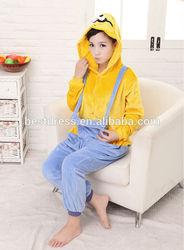 2014 Cheapest Adult Animal Onesie Pajamas cartoon minion onesie