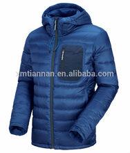 2014 Simple design down jacket men's down coat