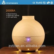 Aromacare big capacity 600ml aroma diffuser oil diffusion