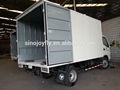 Camión frigorífico/material de acero de acero laterales de cortina de partes del cuerpo del carro