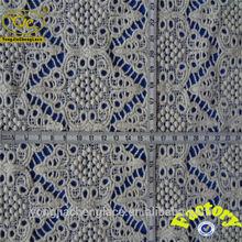 adorable fashion new technique organic cotton lace fabric
