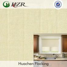 faux linen polyester jute plain vertical blind greenguard fabric flame retardant jute fabric supplier
