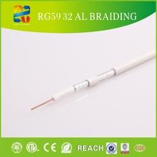 NEW BLACK 500FT BULK RG59 SIAMESE CABLE 20AWG high quality coaxial cable rg59 coaxial cable coaxial cable rg59 u