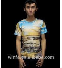 Tutti i tipi di modelli utilizzando la tecnologia della moda 3d t- shirt
