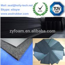 PVC NBR foam sheets for car