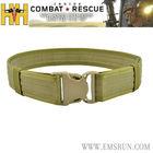 combat tactical belt plastic buckle