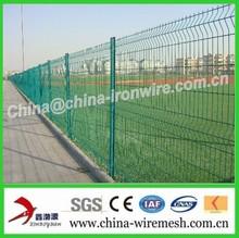 PVC Coated Weldmesh Fence