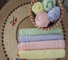 bamboo fabric towel square towel with satin