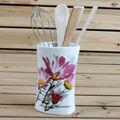 Directo de fábrica de cerámica decal utensilios y electrodomésticos de cocina