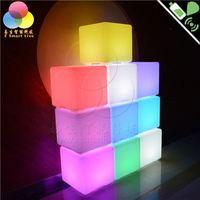 2014 / LED light-emitting furniture fashion cube stool fine shining glow cubic/tea table/shine chair