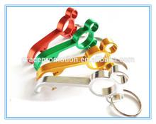 2014 novel design colors aluminum bottle opener by manufacture for sale