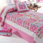 100-percent cotton patchwork quilts bedspreads