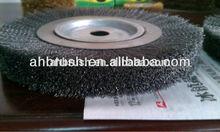 Crimp Wire Wheels/PP wire sweeper brush sheet pretreatment line series brush roll,derusting brush,steel brush