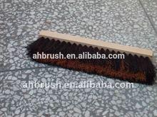 Wooden Handle Floor Brush /Tampico/mix fibre deck brooms