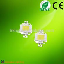 High power array led 10w white cob led epistar chips