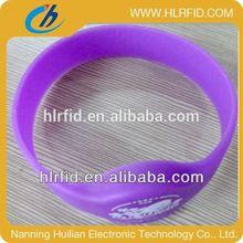 Adjustable Custom Waterproof Silicone Smart Wristband nfc wristband event