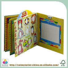 print new colorful hardcover 3d children books