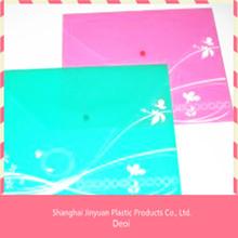 plastic pp file folder with fastener