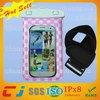 2015 Dongguan PVC Mobile Phone Waterproof Bag For Samsung Galaxy S3