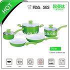 white enamel pot enamel cookware OYD-C601