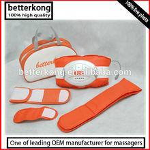 orange OEM oscillating massager belt for wight loss with handbag extend belt