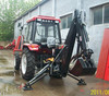 high quality CE approved towable mini backhoe