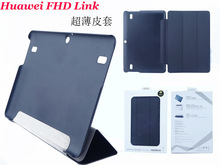 For Huawei Mediapad 10 link High quality leather case, leather case for S10-231wa