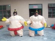 2014 new design foam padded inflatable sumo suits sumo suit foam