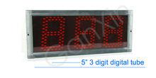 hangzhou ganxin 3 digit 5 inch digital led module