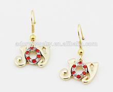 Ail Express pretty children christmas alloy earrings