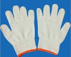 3M/ANSELL knitted cotton work man gloves for USA UK UAE market