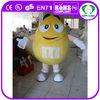 HI good quality chocolate plush mascot costumes for adults