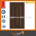 2014 china personalizado moldado melamina sólida porta de madeira teca preço