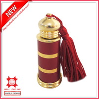 Red newest design hot sale in Dubai OEM in Taiwan refillable mini perfume bottle