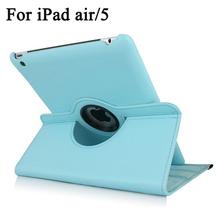 360 Degree Swivel Leather Case for iPad Air/ iPad 5