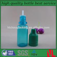 new arrival e juice bottle 10ml PET e liquid bottle 10ml with bottom price