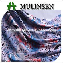 mulinsen tessile alla moda maglia spandex rayon stampa floreale tessuto lycra