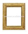 européenne style antique gold leaf square cadre photo