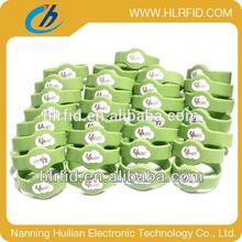 Adjustable Custom Waterproof Silicone Smart Wristband silicone uhf rfid wristband event