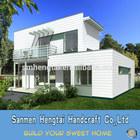 Beautiful design wood houses prefabricated villas timber home