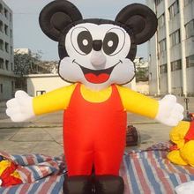 NingBang cartoon character playground inflatable mickey mouse