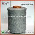hilados de algodón reciclado para hacer punto del calcetín de la máquina para hacer punto del calcetín hilo nm30
